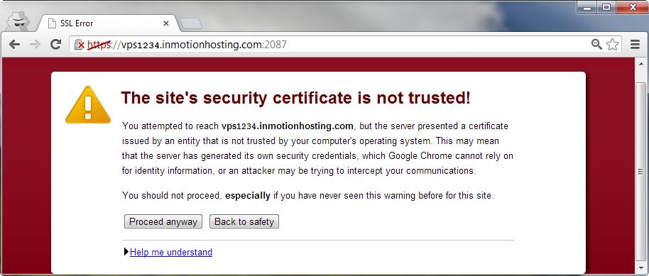 Self Certification Not A Good Idea